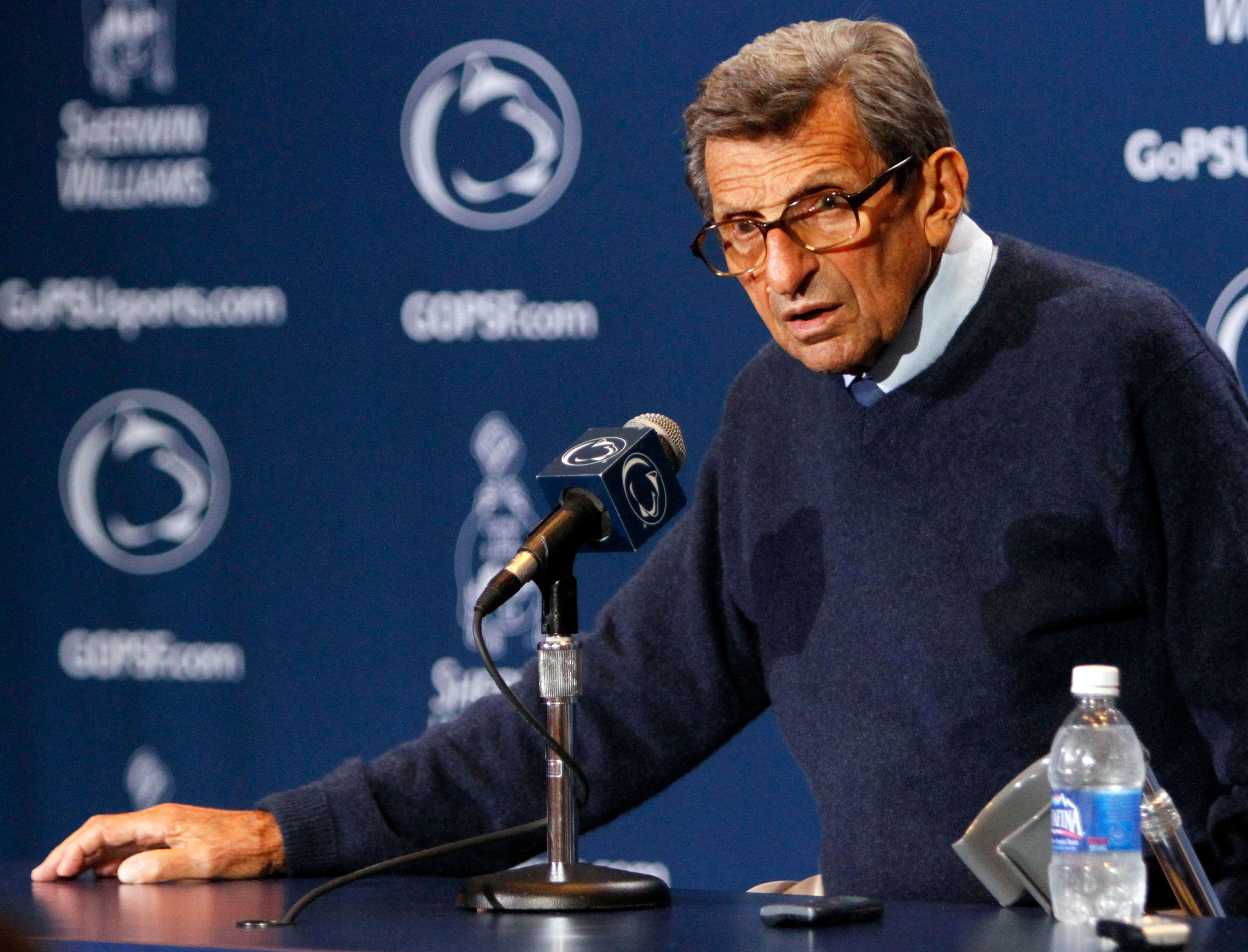 penn state needs to end paternos time Penn state was petitioned by more than 200 of the school's football lettermen to return the joe paterno statue, which was removed in 2012 in the wake of the jerry sandusky case.