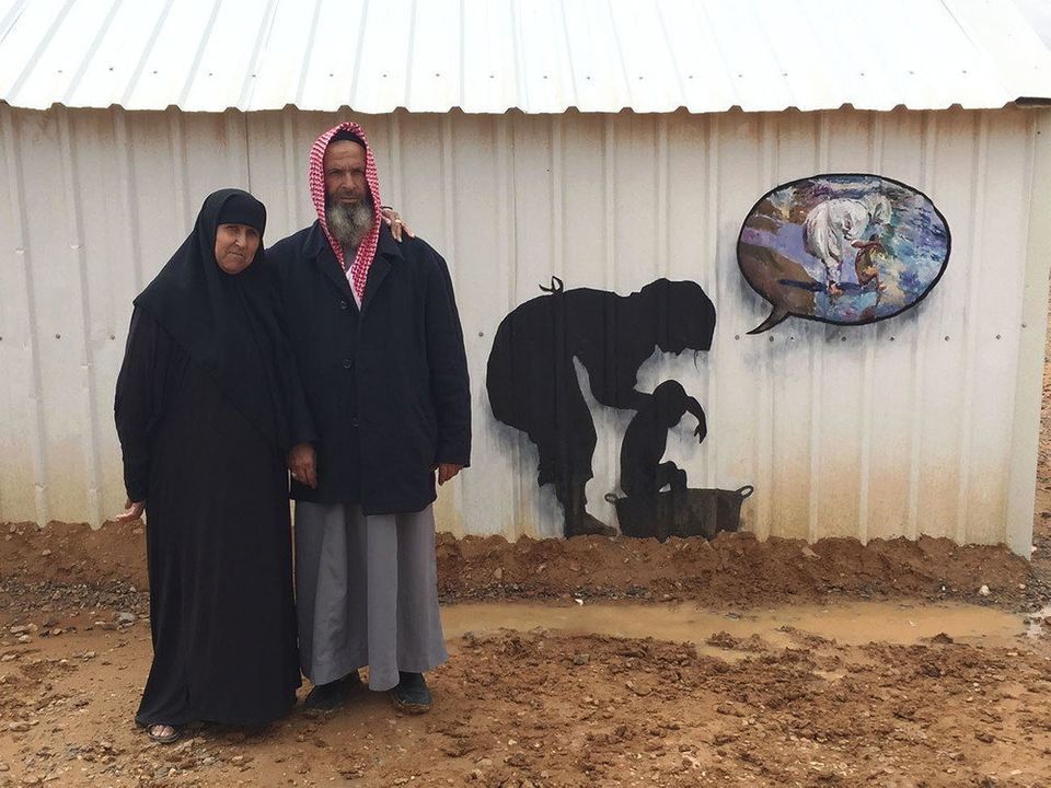 Three in 10 households in the Azraq camp in Jordan are headed by