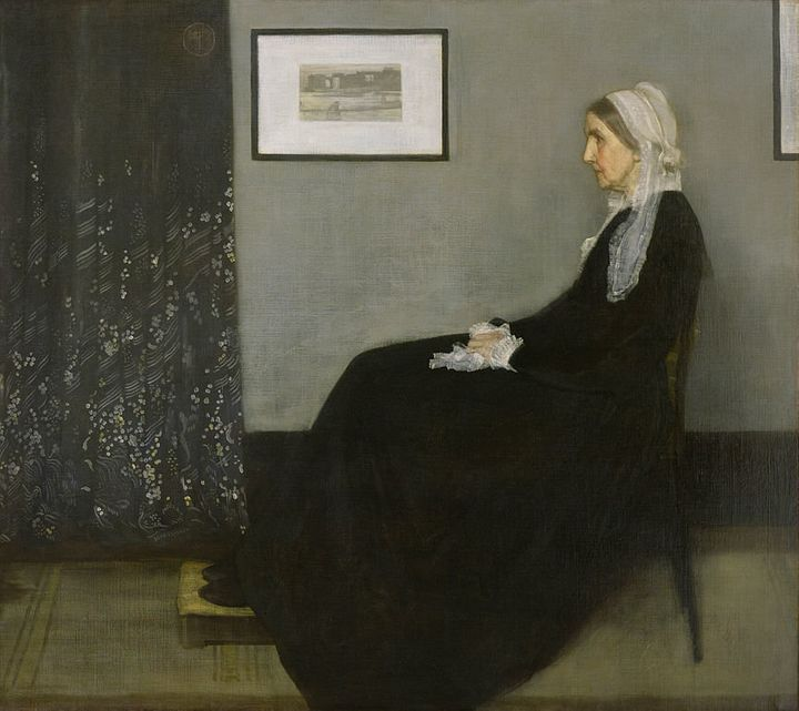 """James Abbot McNeill Whistler, """"Arrangement in Grey and Black No. 1"""" or """"Whistler's Mother,""""<i>&nbsp;</i>1871"""
