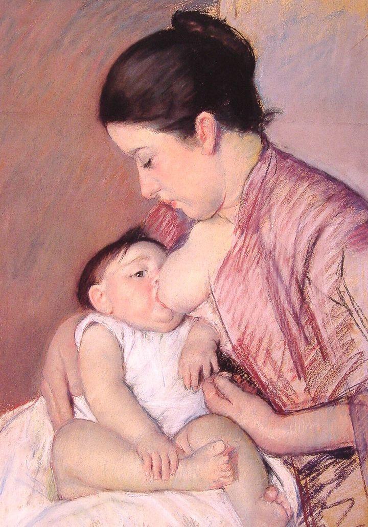 """Mary Cassatt, """"Maternité,"""" 1890"""