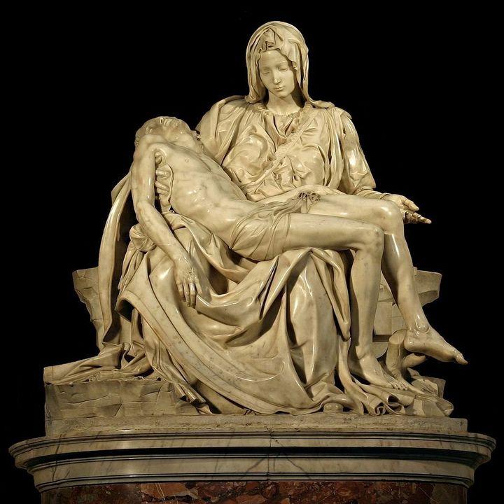 """Michelangelo, """"Pieta,"""" 1498-99"""