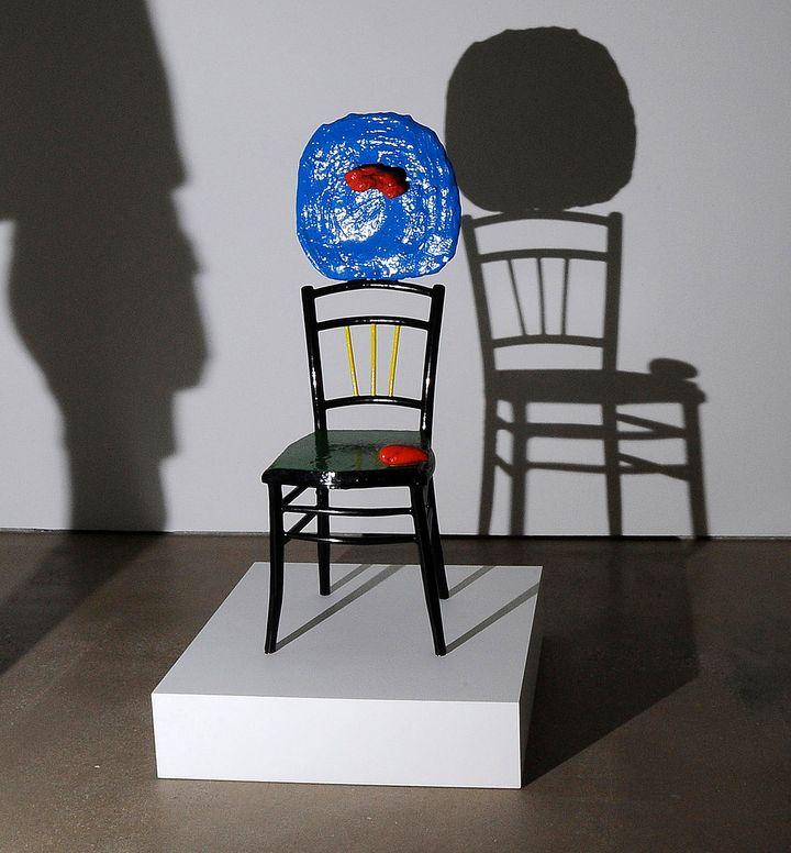 "Joan Miro, ""Seated Woman and Child,"" 1967"