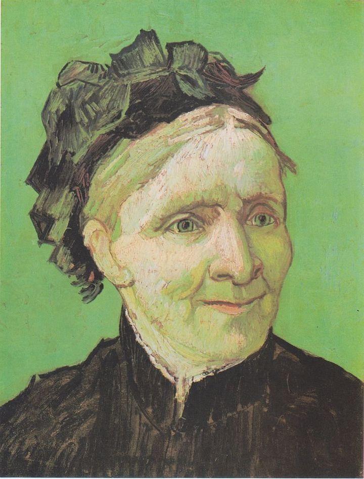 "Vincent van Gogh, ""Portrait of the artist's mother,"" 1888"