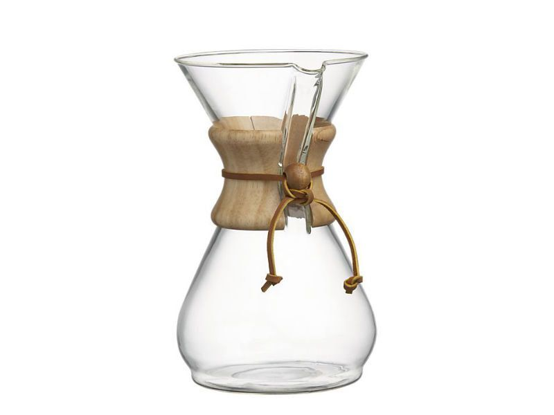 Maybe it's the filters (which are specially made by Chemex to make a great cup), or maybe it's the genius of the doctor that