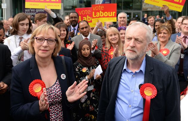 Jeremy Corbyn congratulates new Sheffield Brightside MP Gill