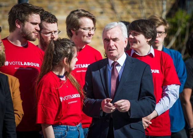 John McDonnell told critics to 'put up or shut