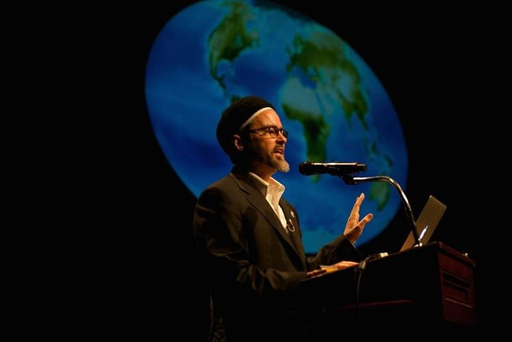"Shaykh Hamza Yusuf speaking at the 2014 Festival of Faiths on the theme of ""Sacred Earth - Sacred Self."""