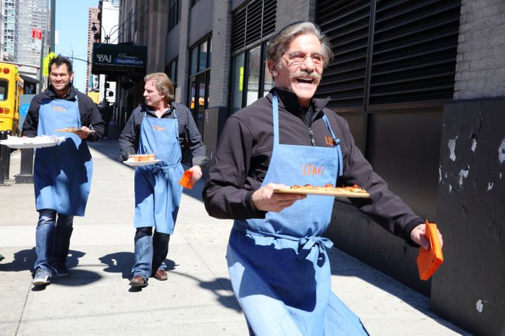 """Geraldo Rivera on Episode 1403 of """"Celebrity Apprentice."""" He thought Trump'sshow was """"a blast."""""""