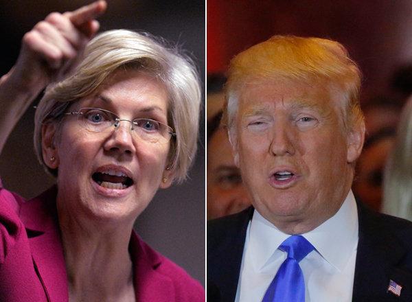 Elizabeth Warren vs. Donald Trump. A battle for the ages.