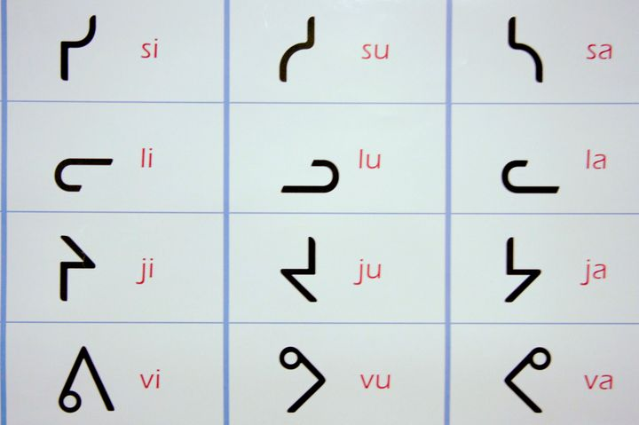 While in parts of Nunavut and northern Quebec, Inuit use syllabics, a writing system developed by Anglican missionaries in th
