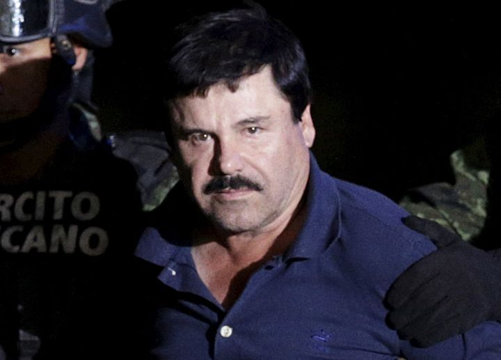 """Joaquin """"El Chapo"""" Guzman,head of the Sinaloa drug cartel, was one of the world's most wanted drug kingpins until his c"""