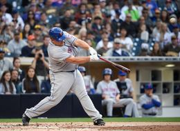 Watch Bartolo Colon Make History With His First Home Run