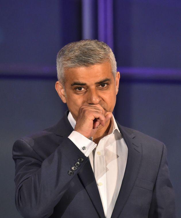 Sadiq Khan has spoken out about Goldsmith's