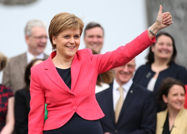 Nicola Sturgeon has confirmed the Scottish National Party intend to relaunch its independence