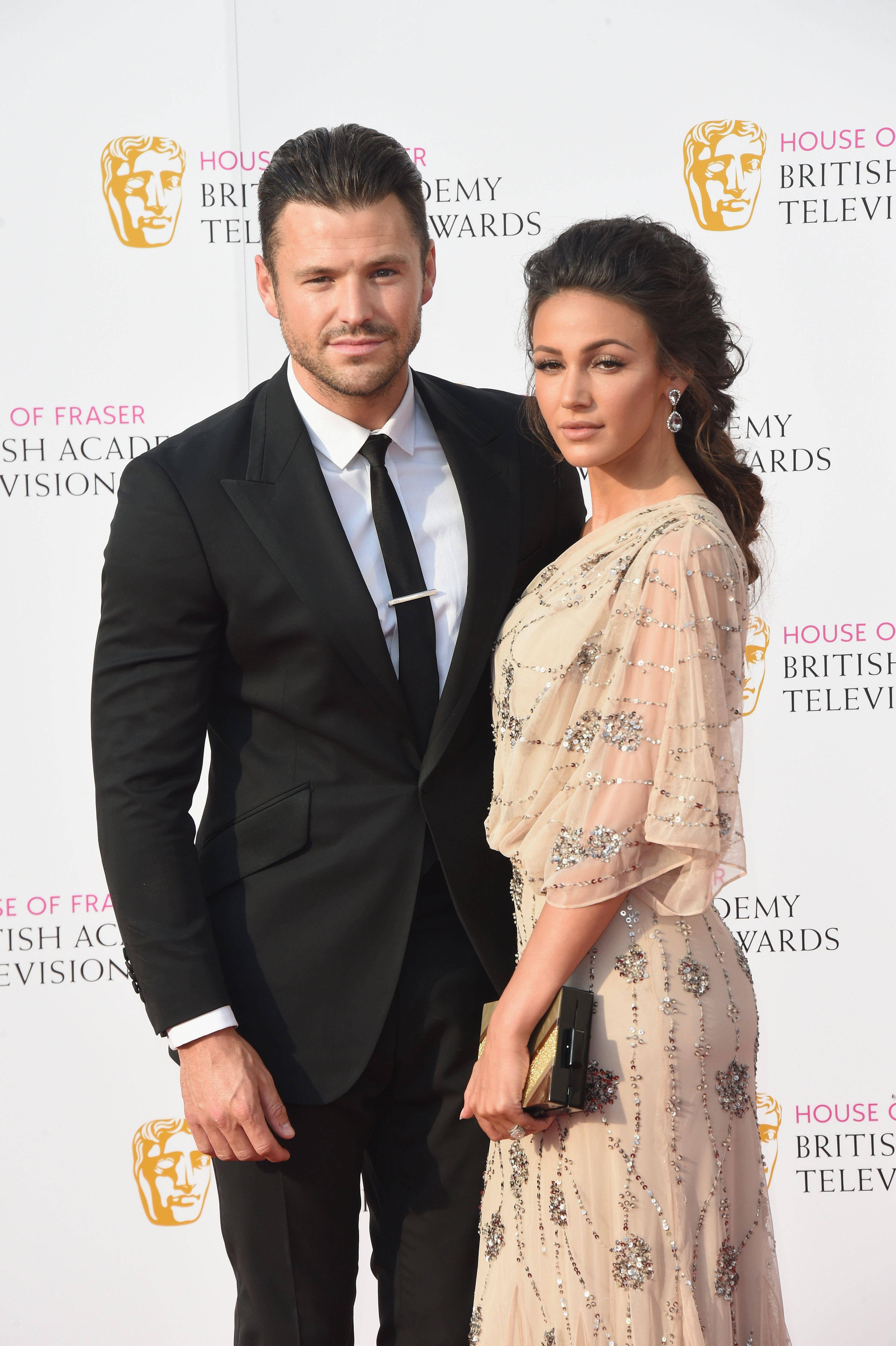 Michelle Keegan And Mark Wright Rule The TV BAFTAs Red