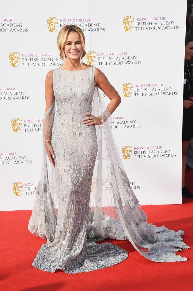 TV BAFTAs 2016: Amanda Holden Dazzles In