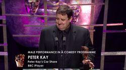 Peter Kay's TV BAFTAs Speech Divides Viewers