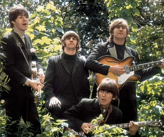 Paul, Ringo, George and John decamped to Chiswick House in West London for their video for 'Paperback