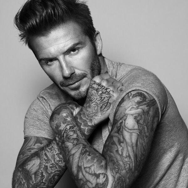 David Beckham Creating A Men's Skincare Range With Biotherm