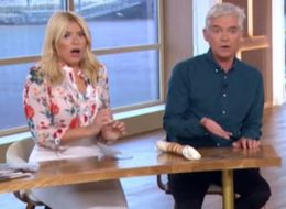 'Lucky You Didn't Swear!' Holly Stunned By 'This Morning' Mishap