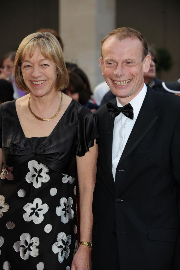 Jackie Ashley and Andrew Marr in
