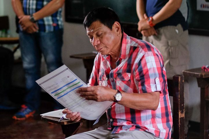 Duterte's campaign has been controversial and his speeches, often loaded with profanity, have shed little light on his politi