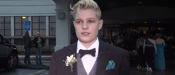Aniya Wolf was thrown out of her own prom for wearing a tuxedo.