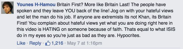 Britain First Forgot To Delete These Embarrassing Comments On Their Facebook Election