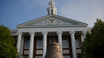 The Baker Library of the Harvard Business School stands on Harvard University campus in Cambridge, Massachusetts, U.S., on Tuesday, June 30, 2015. Harvard University, established in 1636, is the United States' oldest institution of higher learning. Photographer: Victor J. Blue/Bloomberg via Getty Images