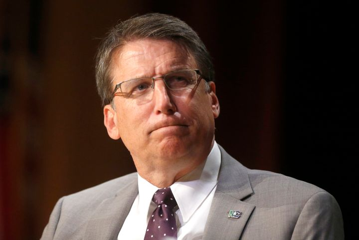 "North Carolina Gov. Pat McCrory (R) called on Congress Monday to help clarify the state's controversial ""bathroom bill."""