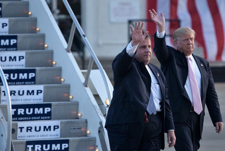 Does this mean Donald Trump now trusts Chris Christie's judgment?