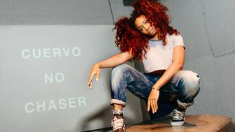 SZA poses at the Cuervo No Chaser event on May 5th.