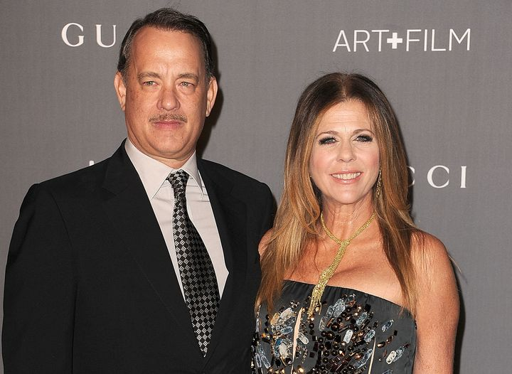 Tom Hanks and Rita Wilson, pictured here in 2012, have been together an impressive 28 years.