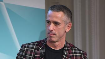 NEW YORK, NY - APRIL 15:  Autor Dan Savage speaks at Tiffany & Co. In Conversation on April 15, 2016 in New York City.  (Photo by Nicholas Hunt/Getty Images  for Tiffany & Co.)