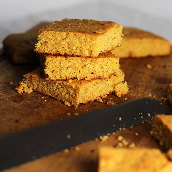 "Get the <a href=""http://eatrealhealthyfood.com/?s=bread"" target=""_blank"">Gluten-Free Cornbread recipe</a> on Eat Real Healthy"