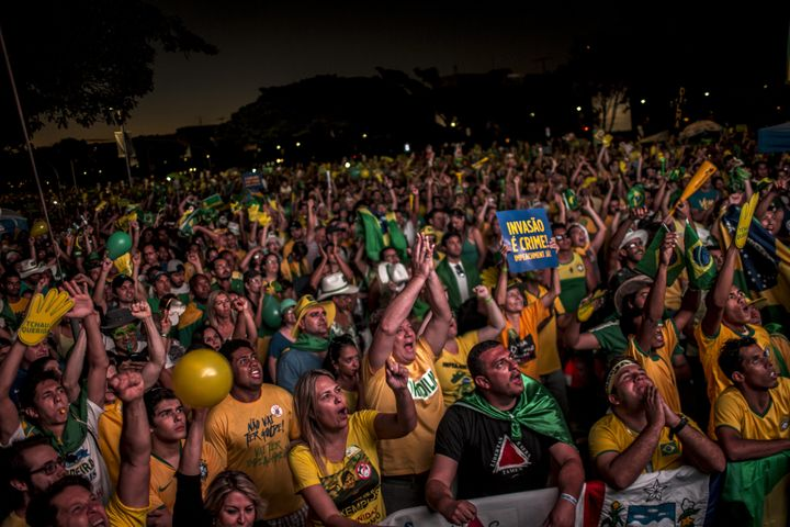 Hundreds of thousands of protestors have called for Rousseff's impeachment.