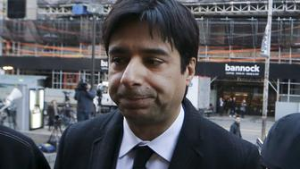 Jian Ghomeshi, a former celebrity radio host who has been charged with multiple counts of sexual assault, arrives for his first day of court, in Toronto, February 1, 2016. Ghomeshi, 48, former host of the internationally syndicated music and arts program Q on Canadian Broadcasting Corp radio,  is pleading not guilty to four counts of sexual assault and one count of overcoming resistance by choking, according to local media reports.   REUTERS/Mark Blinch