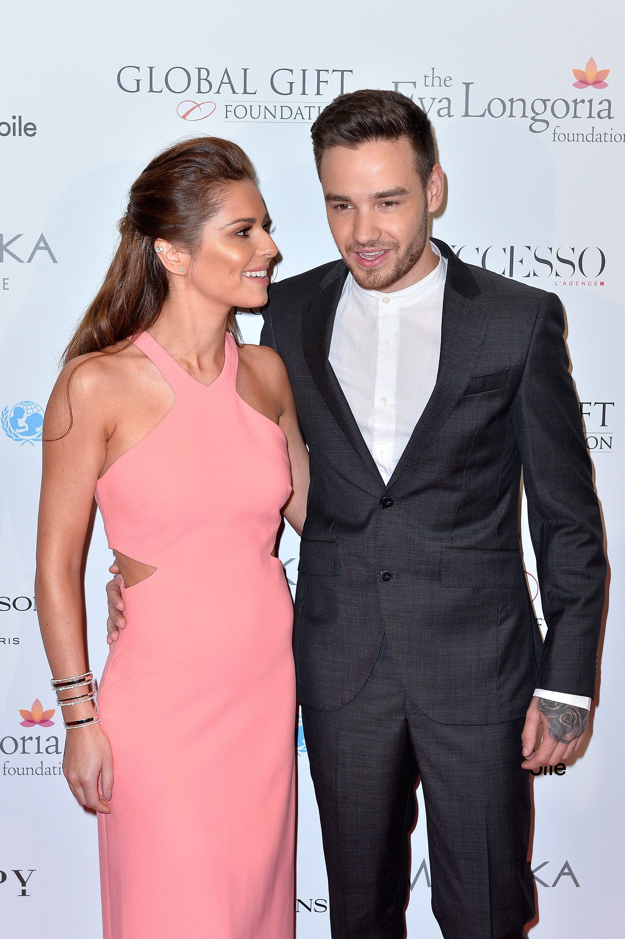 Loved-Up Cheryl And Liam Make It