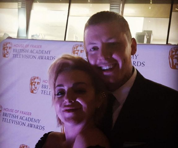 Hanging out with Professor Green at the BAFTA Awards on Sunday