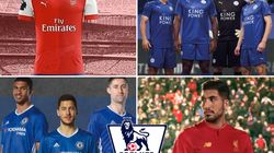 New Premier League 2016/17 Football Kits: Arsenal, Manchester United Strips And Tottenham Strips 'Revealed' On