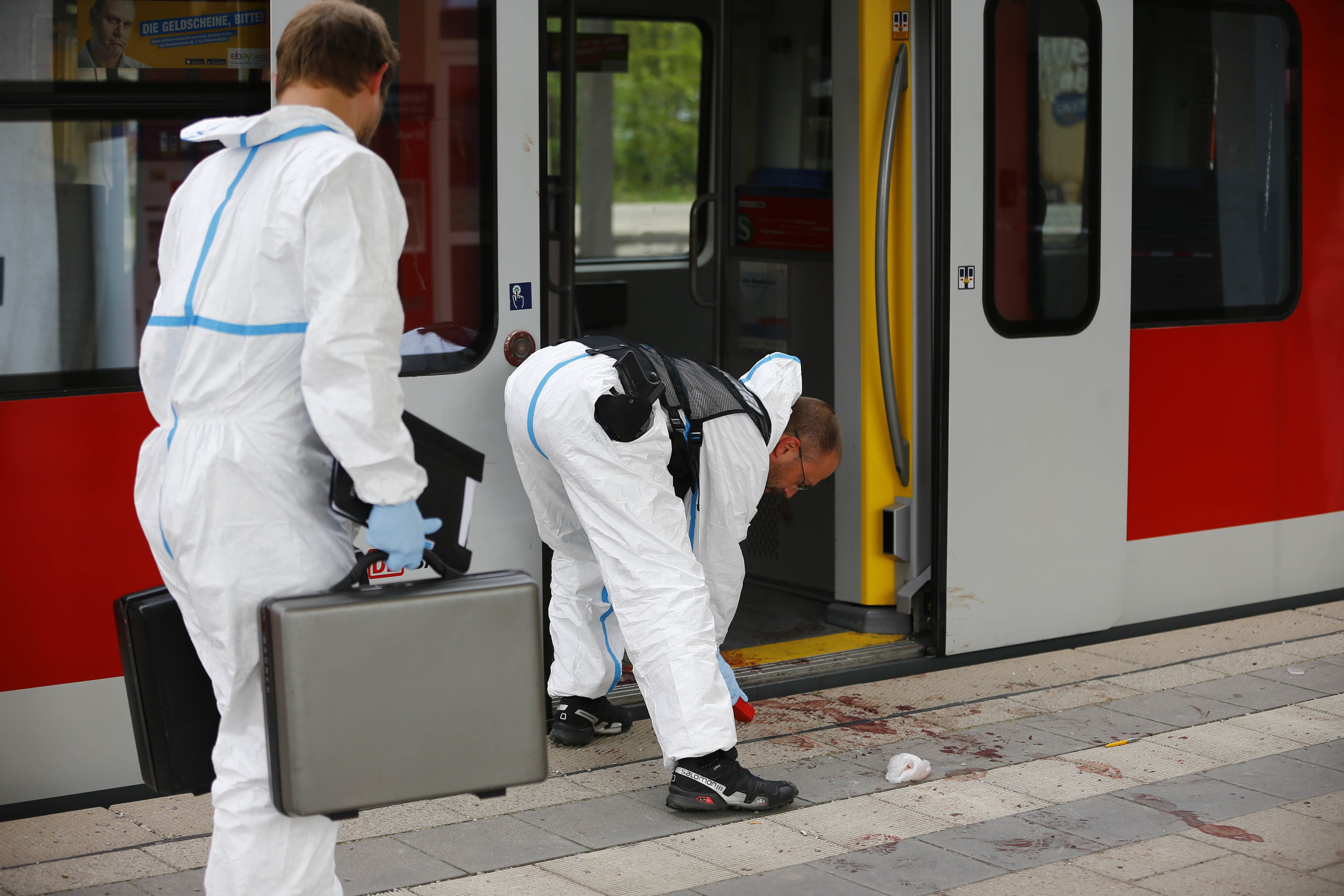 One Dead And Three Injured In Stabbing At Munich Train