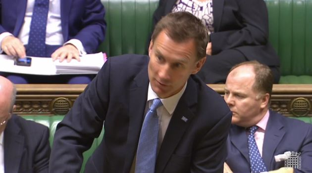 Jeremy Hunt Says Saturday Pay Deal For Junior Doctors Is 'Incredibly