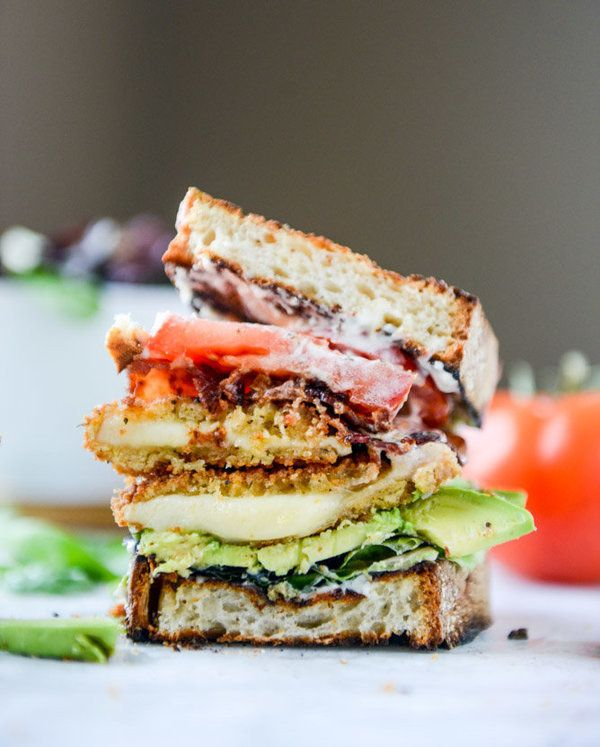 Get theCrispy Smoked Provolone BLATs recipefromHow Sweet It