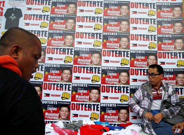 Duterte's vowed to restore law and order in the country, but hisadvocacy of extrajudicial killings to stamp out crime a