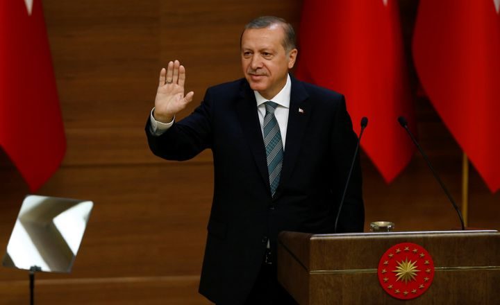 A German court threw out a request by Turkish President Tayyip Erdogan foran injunction preventing the CEOof Germ