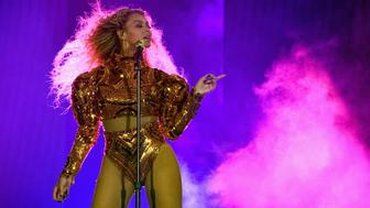 HOUSTON, TX - MAY 07:  Beyonce performs onstage during 'The Formation World Tour' at NRG Stadium on May 7, 2016 in Houston, Texas. Beyonce wears a custom Atsuko Kudo bodysuit and Alexandre Vaulthier boots. (Photo by Larry Busacca/PW/WireImage)