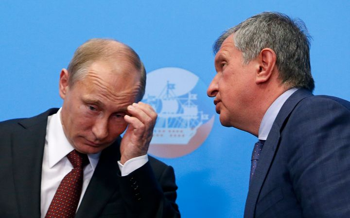 Sechin, one of President Vladimir Putin's closest allies, was the only Russian official to consistently oppose the country's