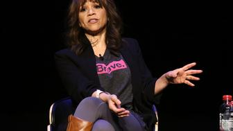 NEW YORK, NY - APRIL 20:  Actress Rosie Perez attends the Tribeca Daring Women Summit during the 2016 Tribeca Film Festival at Spring Studios on April 19, 2016 in New York City.  (Photo by Astrid Stawiarz/Getty Images for Tribeca Film Festival)