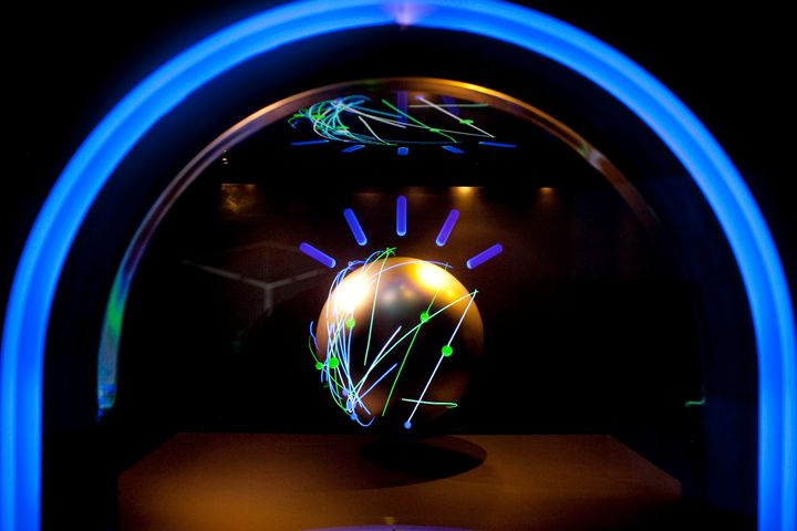 The housing case for the IBM Watson computer, which can help doctors diagnose and treat illnesses.