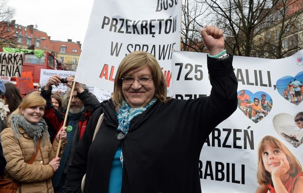 Grodzka was elected in 2011 as a member of the Palikot's Movement party in Poland, making her the world's only openly tr